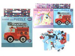 96 Units of 25 Piece Mini Puzzles - Puzzles