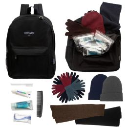 12 Bulk 12 Care Packages - 12 Backpacks, 12 Kits, 12 Winter Item Sets