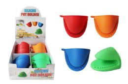 48 Units of Silicone Pot Holder - Oven Mits & Pot Holders
