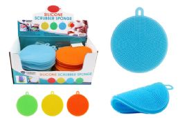 48 Units of Silicone Scrubber Sponge - Scouring Pads & Sponges