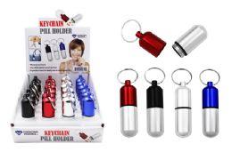 24 Bulk Keychain Pill Holder Small