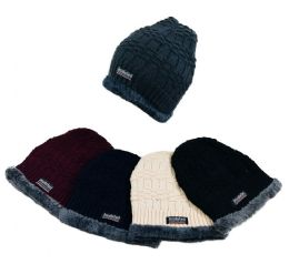 48 of Insulated Knitted Beanie With Plush Lining