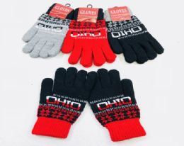 48 of Ohio Knitted Glove In Small