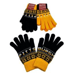 48 of Pittsburgh Knitted Glove