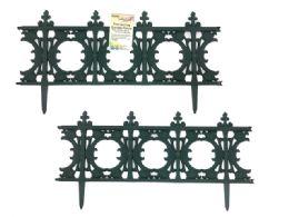 24 Units of Green Connecting Garden Fence - Garden Decor