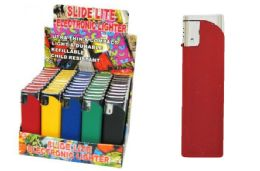 50 Units of Rubber Coated Electronic Lighter - Lighters