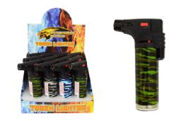 24 Units of Torch Lighter Camo - Lighters