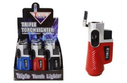 24 Units of Triple Torch Lighter - Lighters