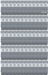 72 of Yacht & Smith Men's 31 Inch Cotton Terry Cushioned Athletic Gray Tube SockS-King Size 13-16