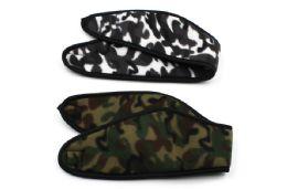 48 Units of Camo Fleece Headband - Ear Warmers