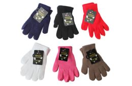 48 Units of Ladies Magic Stretch Gloves - Winter Gloves