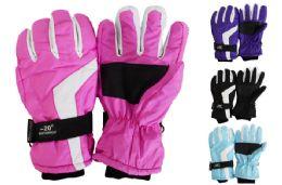 24 Units of Ladies Ski Gloves - Winter Gloves