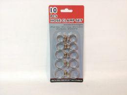 96 Units of 10 Pieces Hose Clamp Set - Clamps