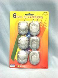 36 Bulk 6 Piece Pencil Sharpener