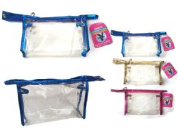 144 Units of Cosmetic Bag Clear - Cosmetic Cases