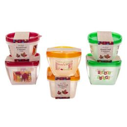 96 Units of 2pk Food Storage Container - Kitchen Gear