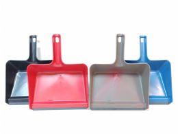 24 Units of Plastic Jumbo Size Dustpan - Dust Pans