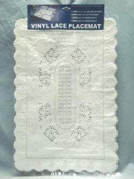 72 Units of Crochet Place Mat 4 Piece Set - Placemats
