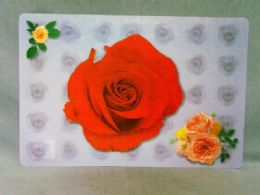 288 Units of Table Mat Rose Design - Placemats