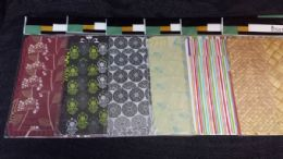 72 Units of 8 Piece Plastic Placemat And Coaster Set Modern Design - Placemats