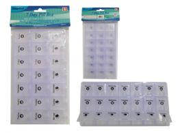 96 Bulk 7 Day Pill Box