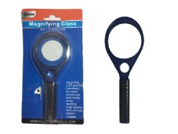 96 Wholesale Magnifying Glass W/blister