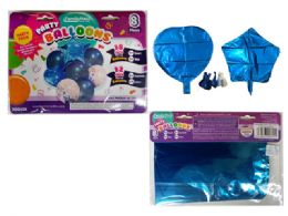 144 of 8 Pc Party Balloon SeT- Blue Only