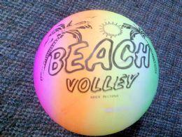 48 Units of Rainbow Color Beach Ball - Beach Toys