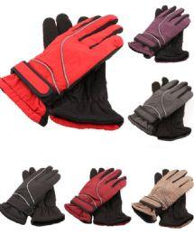72 of Womens Thermal Lining Waterproof Winter Ski Gloves