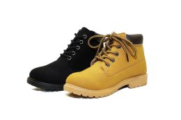 18 Units of Working Style Kids Ankle Boots With Side Zipper - Boys Boots