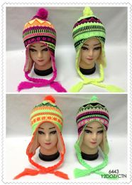 72 Bulk Fluorescent Neon Helmet Hat