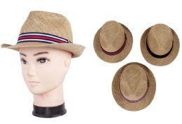 72 Wholesale Unisex Fedora Hat