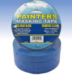 48 Wholesale Blue Painters Masking Tape