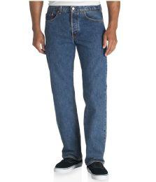 24 of Mens Classic Fit Original Denim Jeans
