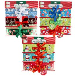 36 Units of Gift Box Christmas Paper Belly Band - Christmas Gift Bags and Boxes