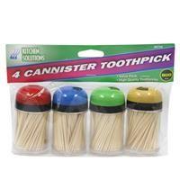 48 Units of Toothpicks 4 Canisters - Toothpicks