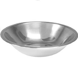 48 Units of 24 Ounce Stainless Mixing Bowl - Stainless Steel Cookware