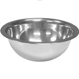 48 Units of 32 Ounce Stainless Deep Mixing Bowl - Stainless Steel Cookware