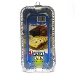 12 Units of Loaf Pan Foil - Aluminum Pans