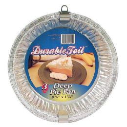 12 Units of Durable Deep Dish Pie Pan - Aluminum Pans