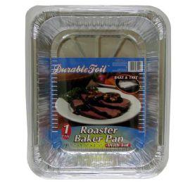 20 Units of Foil Roast Baker Pan With Lid - Aluminum Pans