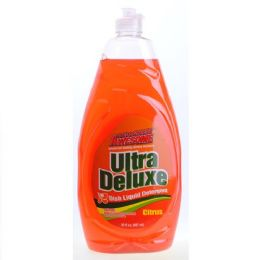 12 Units of Awesome Ultra Concentrated Dish Liquid Citrus 30 Ounce - Cleaning Supplies