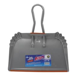 12 Units of Metal Dust Pan - Dust Pans