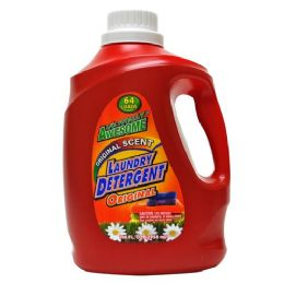4 Units of Awesome 3x Laundry Detergent 64 Loads 100 Ounces - Laundry Detergent