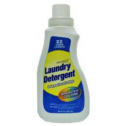 12 Units of Power X Liquid Laundry Detergent Regular For Bright Colors 22 Ounces - Laundry Detergent