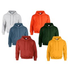 24 of Mill Non Graded Gildan Irregular 2nds Irregular Hooded Sweatshirt