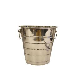 12 Units of 5 Quart Wine Bucket Stainles - Stainless Steel Cookware