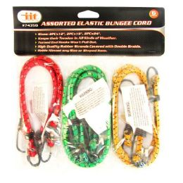 24 of 6 Piece Bungee Straps