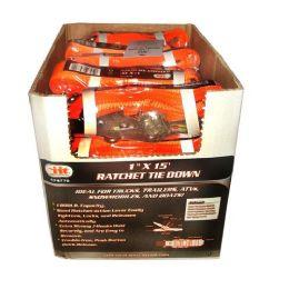 24 Units of Ratchet Tie Down Set - Ratchets