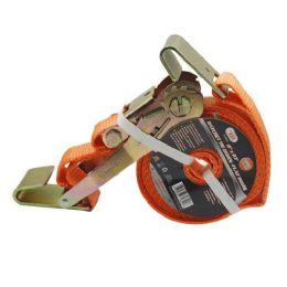 6 Units of Tie Down Flat Hooks - Ratchets